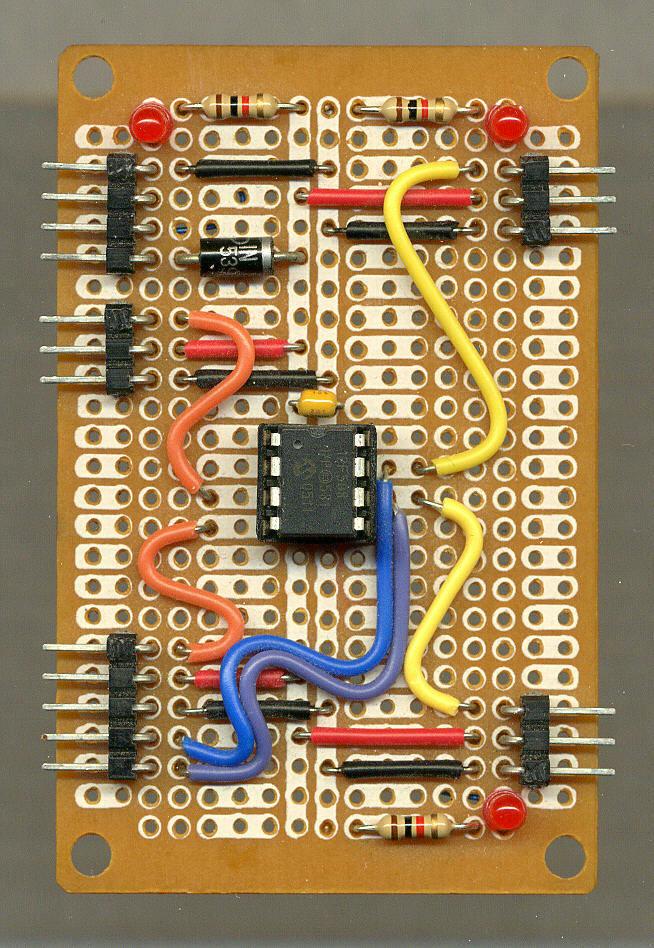 Pic 12f508 Based Servo Motor Test Circuit