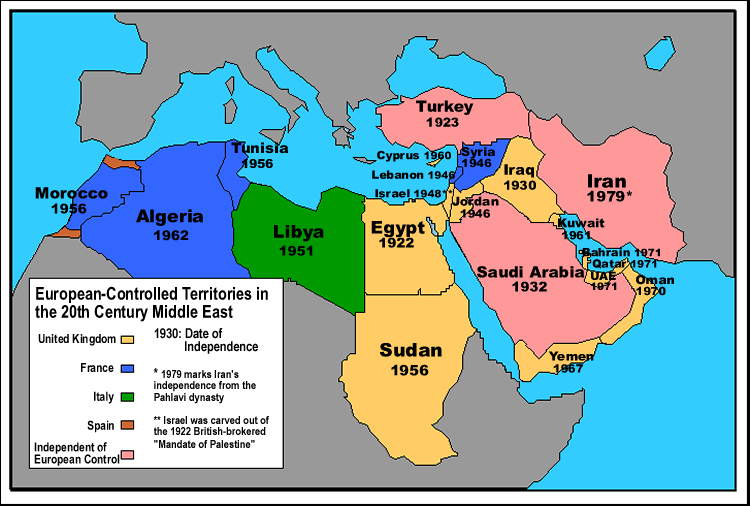 Immigrants from the Middle East and North Africa